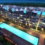 Jade Residences Night Scene