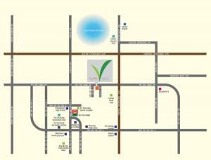 flora ville location map