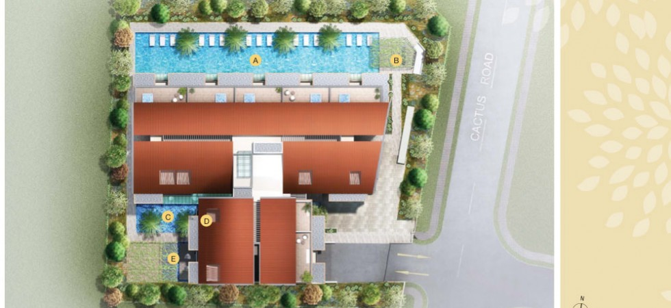 flora ville site plan