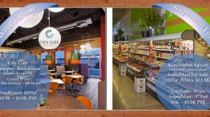 SuperMart and FoodCourt For Sale (City Gate & Kensington Square)