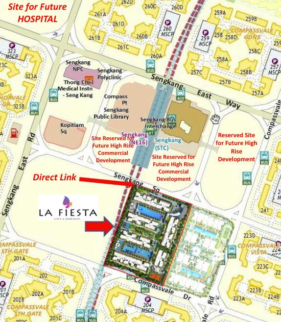 la fiesta site map