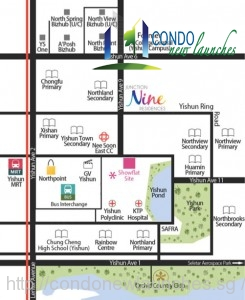 nine residences location map