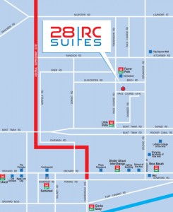 28 rc suites location map