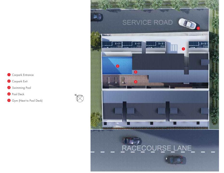 28RC Suites New Launch Site Plan