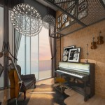alex residences music room