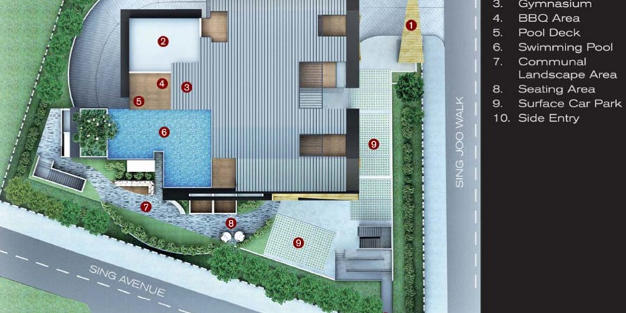 farrer suites site plan
