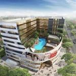 m2 macpherson mall facade