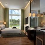 qbay condo bedroom
