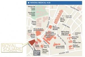 royal square location map