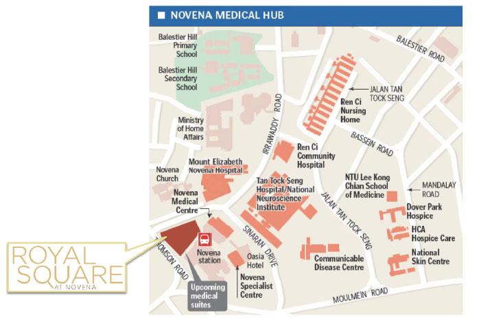 Royal Square At Novena Health City Enquiry 98345140