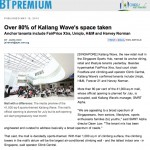 Kallang Wave Mall Opening