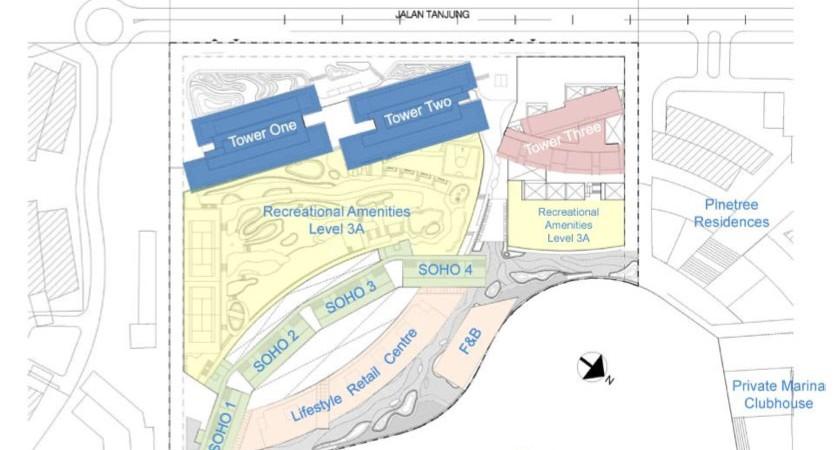 puteri cove residences site plan