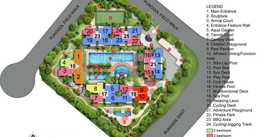 waterwoods site plan