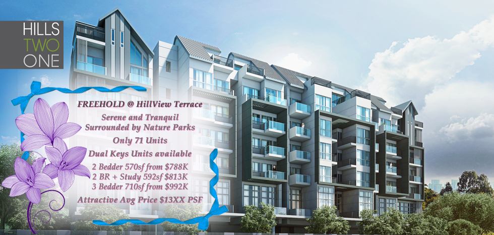Hills 21 (Freehold) New Launch