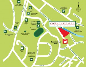 commonwealth tower location map