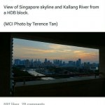 Kallang Riverside city skyline view by PM Lee
