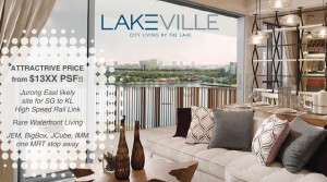 LakeVille . Waterfront New Condo
