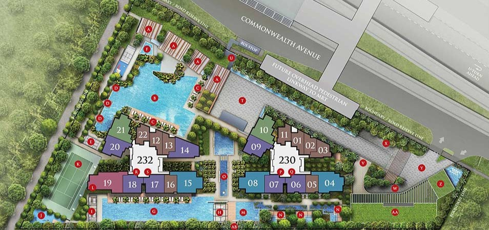 Commonwealth Tower Site Plan