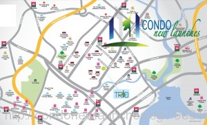 Trio-commercial-new-launch-location-map