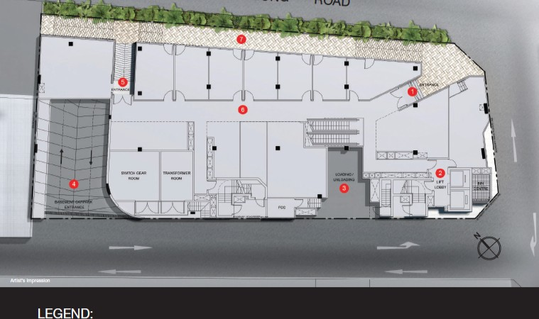 TRIO Commercial New Launch Site Plan