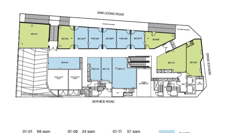 Trio Site Plan Level 1