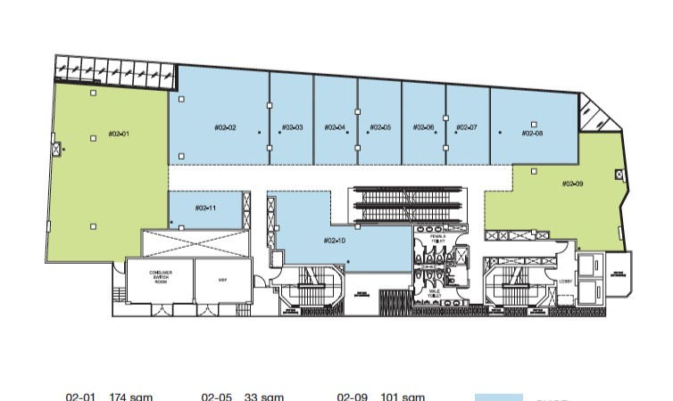 Trio Site Plan Level 2
