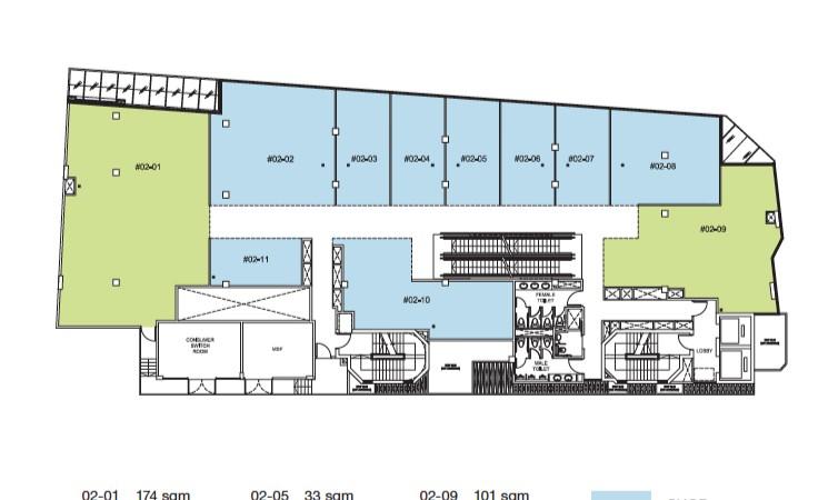 Trio Site Plan Level 2