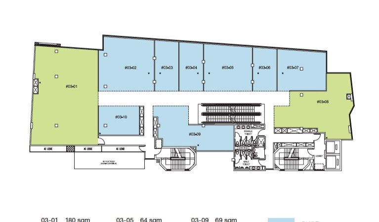 Trio Site Plan Level 3
