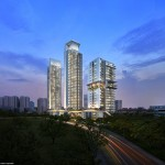 Highline Residences night scene