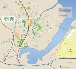 NorthPark_Resi_location_map