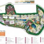 Sophia Hills Site Plan with Bedroom Types