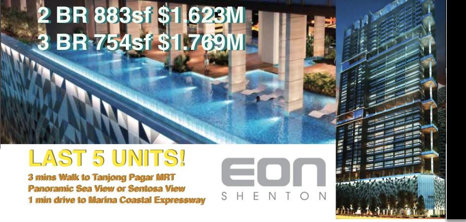 EON Shenton New Launch Price Promo