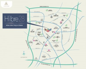 Hilbre28_New_Condo_Launch_Location Map