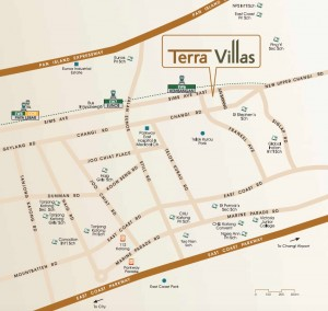 Terra-Villas-freehold-terrace-location-map